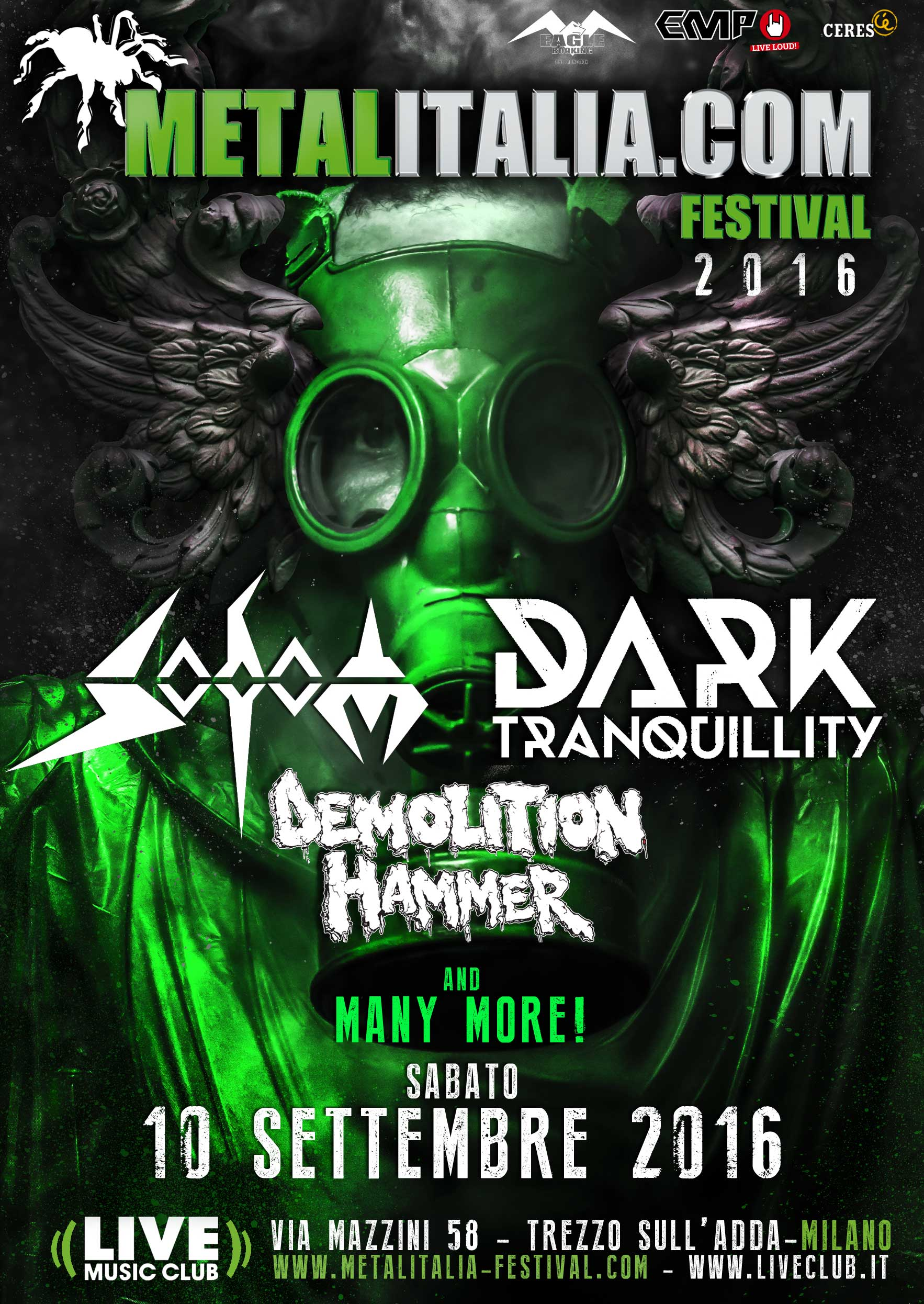 metalitalia festival 2016 - seconda locandina