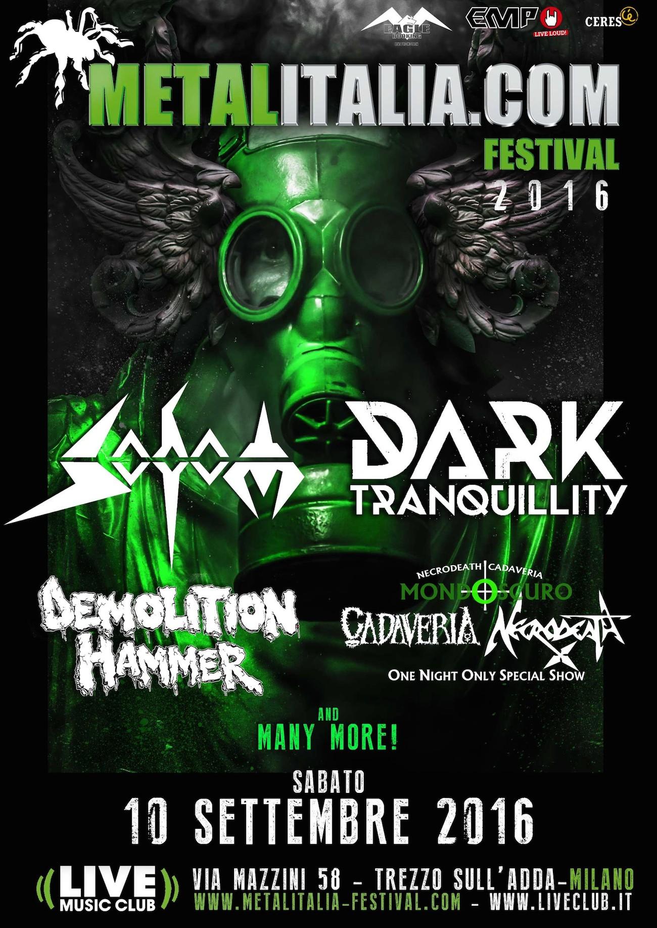 metalitalia festival 2016 - aggiornamento